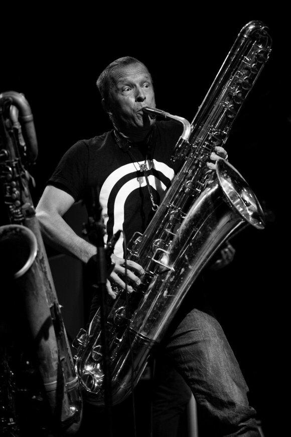 Pasaulinė improvizacinės muzikos žvaigždė Matsas Gustafssonas atvyksta į Vilnių