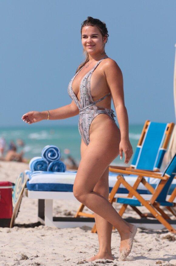 """Kiek kainuoja šios rusų """"Kim Kardashian"""" grožis"""