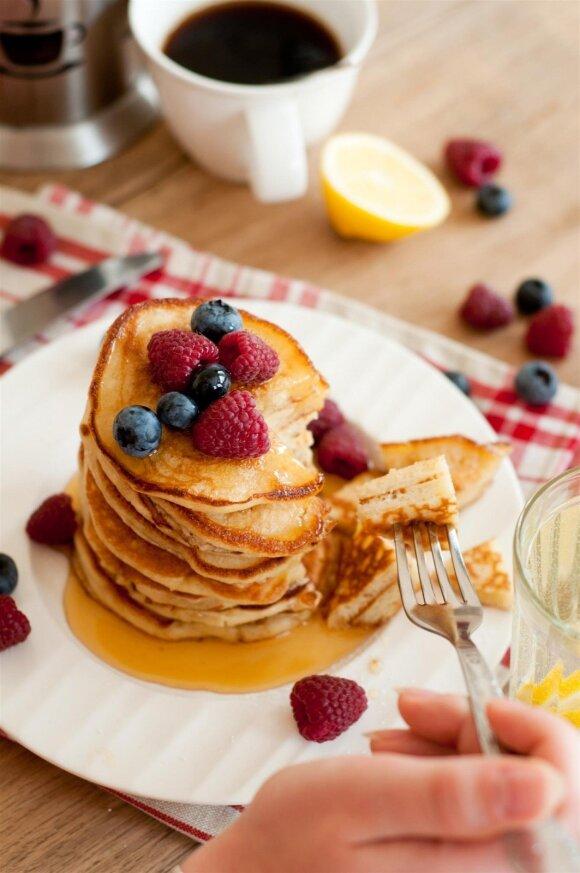 Maisto tinklaraštininkė Asta: sveikesni blynai – be didelių pastangų