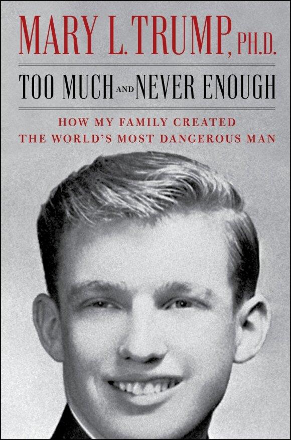 Mary Trump knygos viršelis