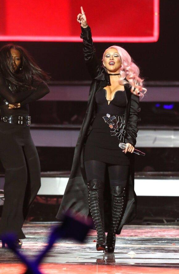 Christina Aguilera 2016 metų gruodį