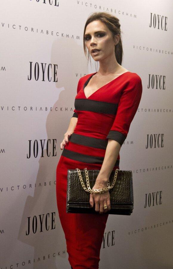 Elegantiškas V.Beckham stilius