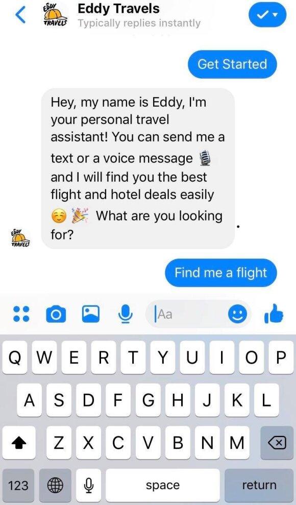 """""""Facebook"""" nesiliauja stebinti: nuo šiol jums suplanuos kelionę ar net konsultuos sveikatos klausimais"""