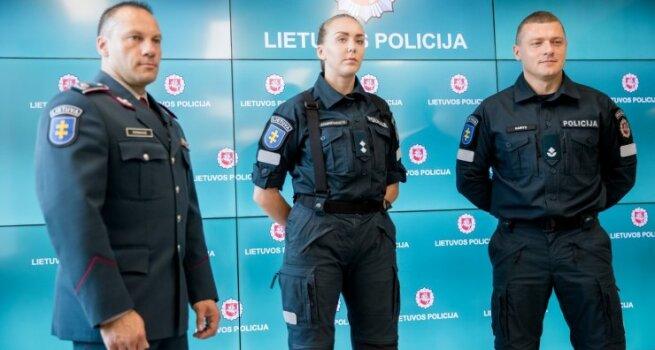 Pirmą kartą nuo 1990 metų pristatyta nauja, stilinga ir moderni policijos uniforma