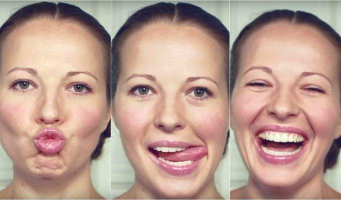 Įveikite raukšles: išbandykite 3 minučių veido gimnastiką VIDEO