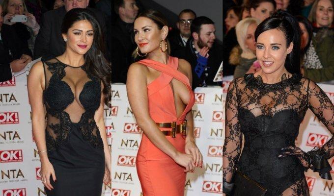 """Suknelių nesėkmės britų """"National Television Awards"""" iškilmėse FOTO"""