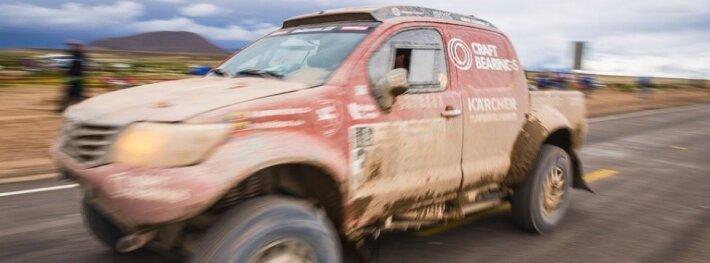 Be mechanikų naktį praleidusių dalyvių Dakare laukia ilga diena