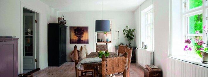 Trijų asmenų 200 kv.m namas Danijoje: tikra kaimiška idilė