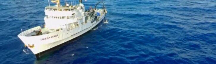 Olandas planuoja perpus sumažinti šiukšlių kiekį Ramiajame vandenyne
