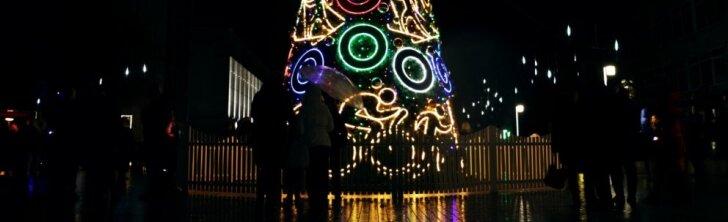 Kalėdinė Alytaus eglė
