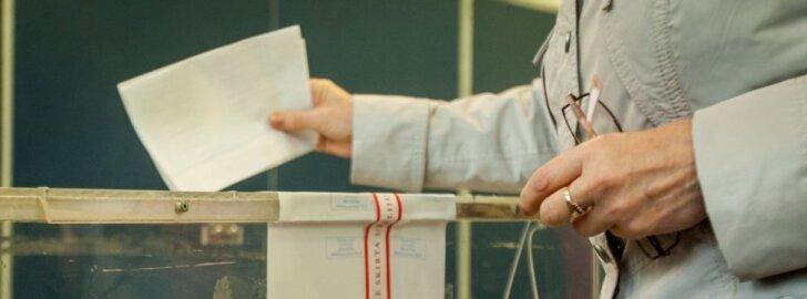 Antrajame ture jau balsavo per 33 tūkst. rinkėjų