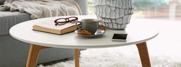 Kaip pasigaminti kavos staliuką?