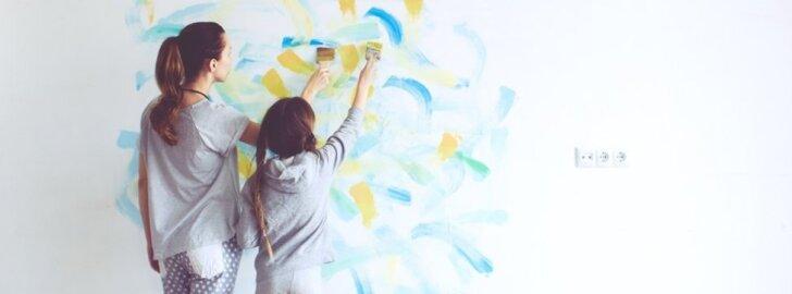 Interjerų tendencijos: kokiomis spalvomis dažysime kambarius?