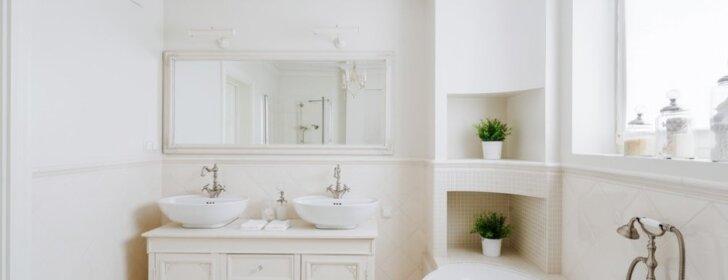 """<span style=""""color: #ff0000;"""">BALSAVIMAS:</span> išrinkite universaliausią vonios kambario dizainą"""