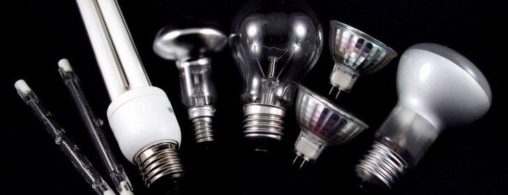 Kaip pagal formą pasirinkti taupiąją lemputę