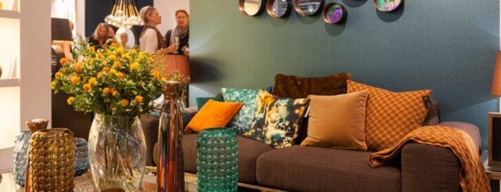 5 lengviausiai namuose pritaikomos interjero idėjos iš dizaino parodos Frankfurte