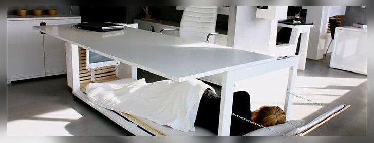 Stalas, dėl kurio iš naujo įsimylėsite savo darbą