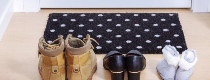 Kad prie namų slenksčio visada būtų švaru: kaip išvalyti durų kilimėlį