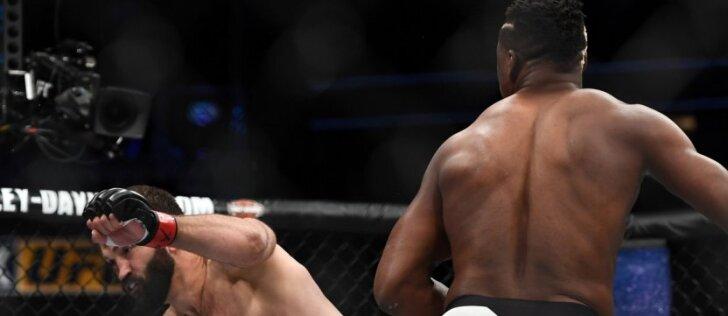 Baltarusių Pitbulis UFC ringe patyrė katastrofą (VIDEO)