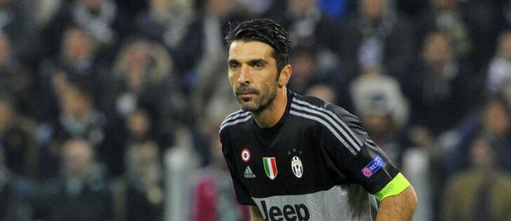 G. Buffonas – futbolo etalonas, išgyvenęs emocinį nuosmukį
