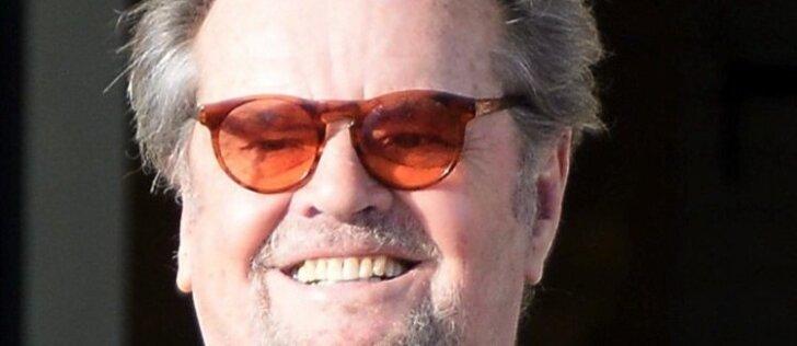 Naujausios Jacko Nicholsono nuotraukos: sunku sulaikyti ašaras