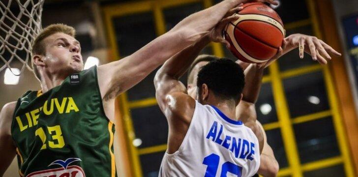 Lietuvos jaunių U-19 rinktinė įveikė Puerto Riko krepšininkus