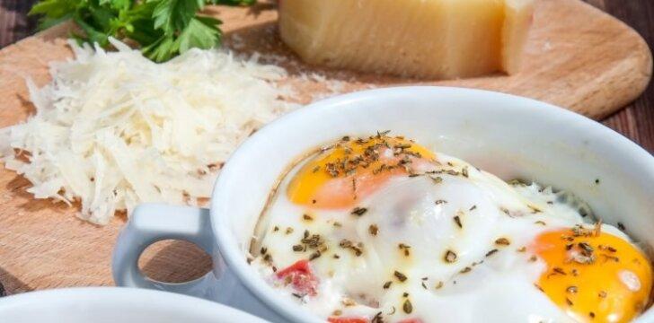 SOTU: kiaušinienė su sūriu