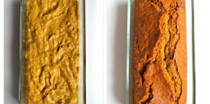 Lengvai pagaminamas ir maistingas moliūgų pyragas