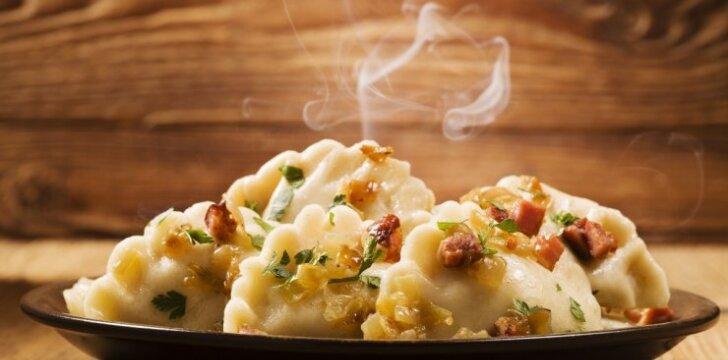 Virtiniai su bulvių įdaru