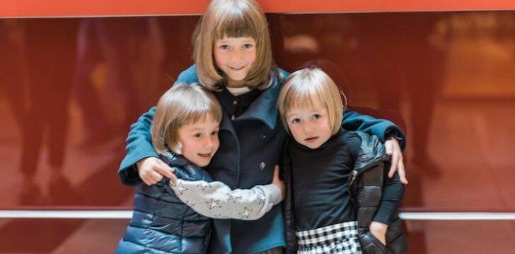 7 vaikų mama Sabina Daukantaitė: mūsų šeimoje madas diktuoja šešiametė Uršulė