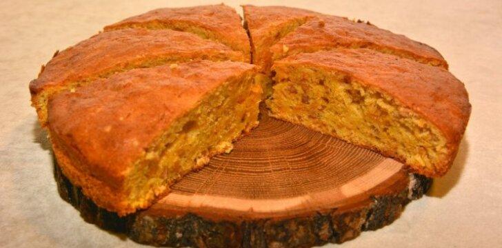 Močiutės morkų pyrago receptas keliauja iš kartos į kartą
