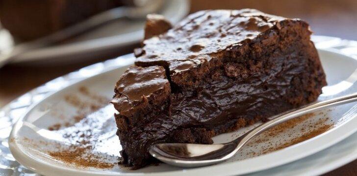 Šokoladinis pudingas per 15 min