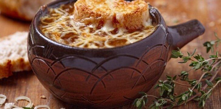 Keturių sūrių sriuba