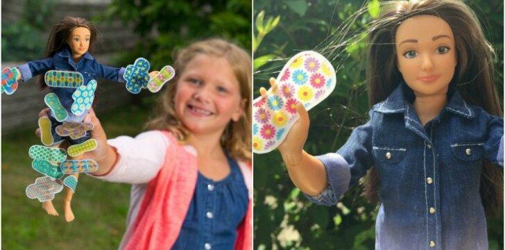 """Sukūrė lėles, kurios padeda mergaitėms neišsigąsti menstruacijų <sup style=""""color: #ff0000;"""">(FOTO)</sup>"""