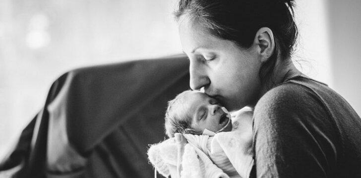 Ilga kelionė namo: ką patiria neišnešiotų kūdikių mamos