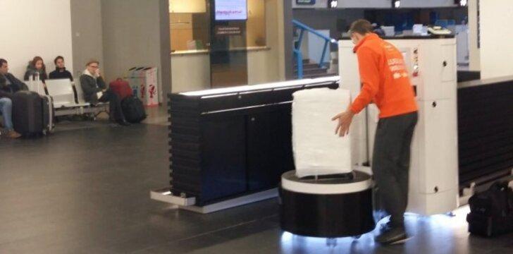 Vilniaus oro uoste – naujovė, kuri padės apsaugoti bagažą