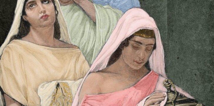 Babilono paleistuvės arba kaip senovėje moterys aukodavo savo nekaltybę