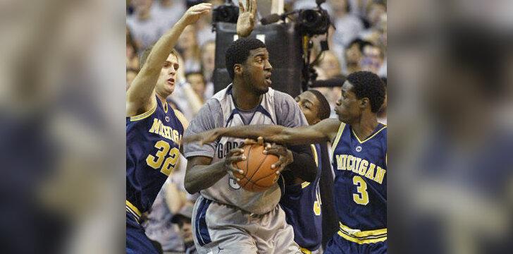 NCAA krepšinio čempionato akimirkos