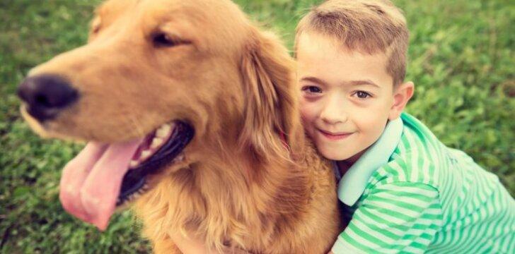TOP 10 šunų veislių, kurios labiausiai tinka turintiems vaikų