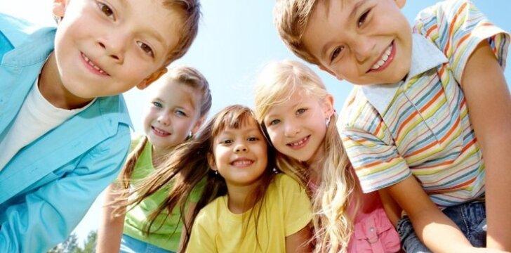 Montessori darželiuose gerbiami vaikai