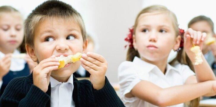 Kam ir kada priklauso nemokamas maitinimas mokykloje?