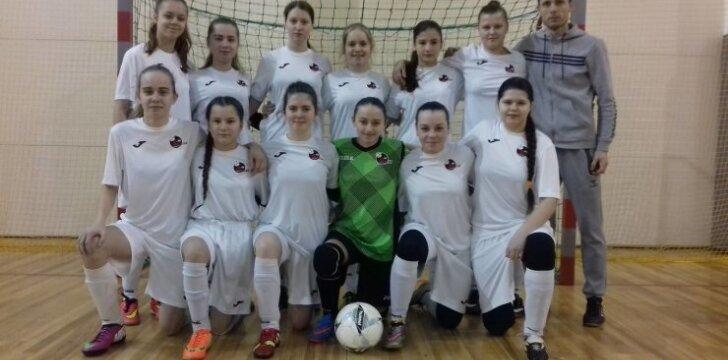 Marijampolietės pateko į Lietuvos mažojo futbolo čempionato finalą