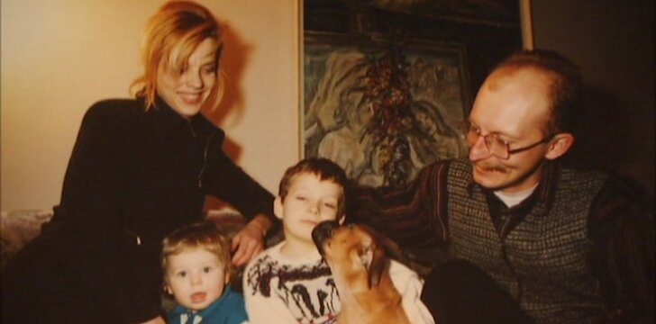 Ingos ir Arūno Valinskų šeima