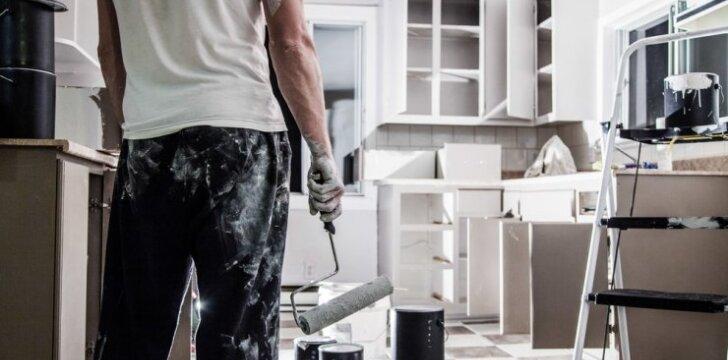 Darau pats: kaip atnaujinti virtuvės spinteles?