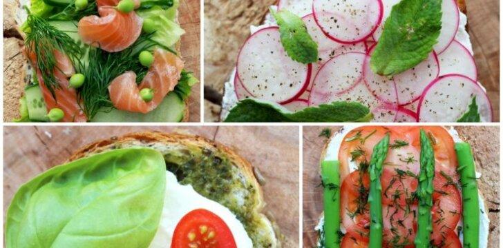 15 idėjų tobulo skonio sumuštiniams