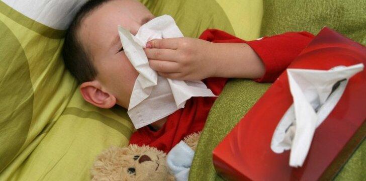 Virusai ir bakterijos puola vaikus: ką turime žinoti?