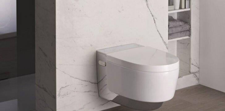 Nauji tualeto sprendimai