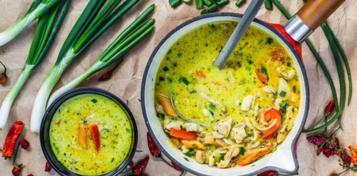 Grietininė vištienos sriuba