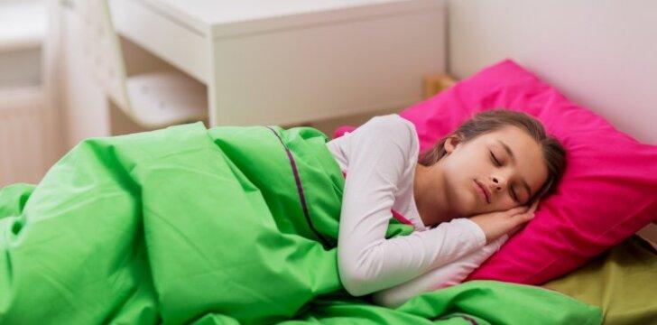 """Kiek iš tiesų mums reikia miego? <sup style=""""color: #ff0000;"""">Lentelė 0-16 m vaikams</sup>"""