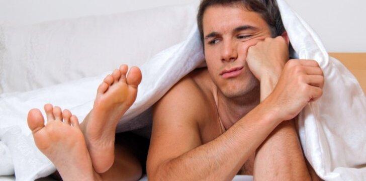 """Priešlaikinė ejakuliacija – santykių griūties pranašas <span style=""""color: #ff0000;""""><sup>seksologo interviu</sup></span>"""